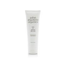 John Masters Organics rožu – aprikožu pieniņš matiem (pēc